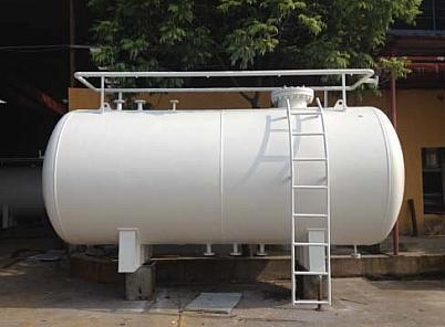 bồn chứa co2 lỏng nằm ngang